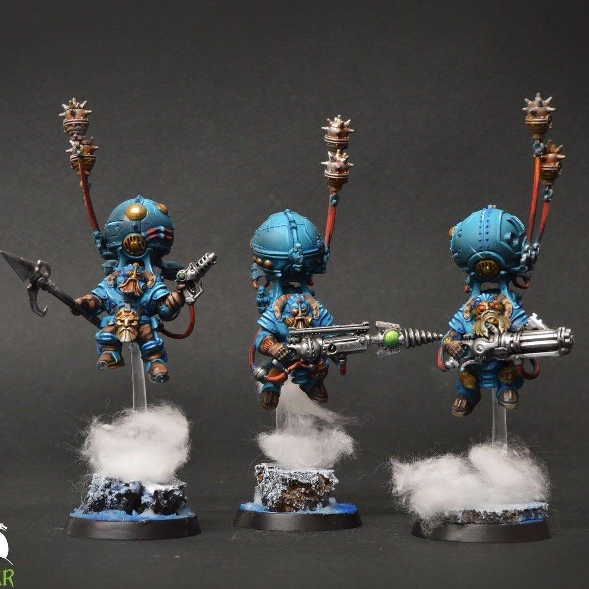 Kharadron señores skywardens Warhammer   Pro Pintura de comisión