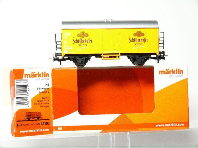 Märklin 44193 H0 Wagons de bière Schöfferhofer blé DB TOP OVP