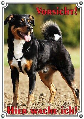 100% Wahr Hundeschild Appenzeller Sennenhund - Hochwertiges Metallschild In Premiumqualitä Seien Sie Freundlich Im Gebrauch