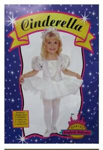Cinderella-Child-Costume-Rubie-039-s-New-Halloween-size-Small-Ballernia-Storybook