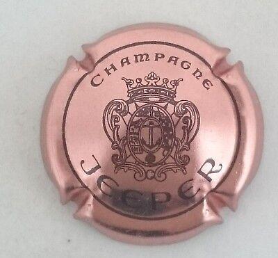 6. rosé et marron Capsule de champagne JEEPER