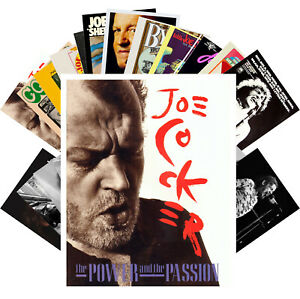 Postcards-Pack-24-cards-Joe-Cocker-Music-Vintage-Posters-Photos-CC1236