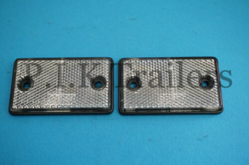 Motor Home Trailers Garden Walls Oblong Reflectors for Driveway Fence Posts