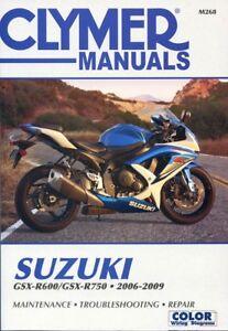 Suzuki gsx-r 600 2006-2007 service manual | suzuki motorcycles.