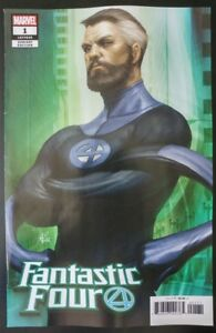 FANTASTIC-FOUR-1-Artgerm-034-Mr-Fantastic-034-Variant-2018-MARVEL-Comics-VF-NM