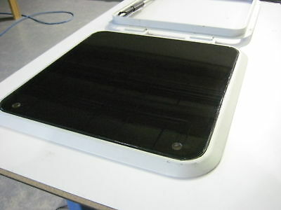 """Bomar replacement hatch lens 18 3//8/"""" x 13 1//4/""""   Bomar    Lumar Pompanette"""