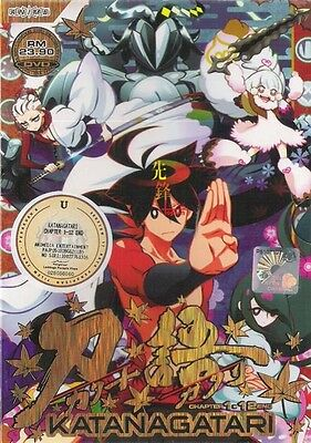 DVD Katanagatari Vol. 1 - 12 End   + 1 Bonus Anime DVD + FREE SHIPPING Tracking