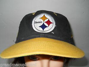 Image is loading Classic-Vintage-PITTSBURGH-STEELERS -SNAPBACK-Eastport-Baseball-Trucker- f3b060aad8cf