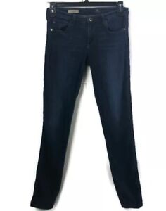 Adriano-Goldschmied-AG-Womens-Jeans-Denim-The-Legging-Super-Skinny-Sz-29R-Dark