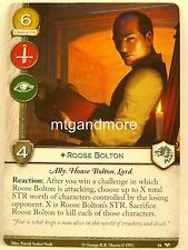 A Game of Thrones 2.0 LCG - 1x #081 Roose Bolton-Ghosts of Harrenhal