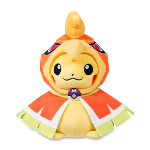 """Official Pokemon Center Pikachu in Ho-Oh Hoodie Plush Toy Doll 8/""""  Gift"""