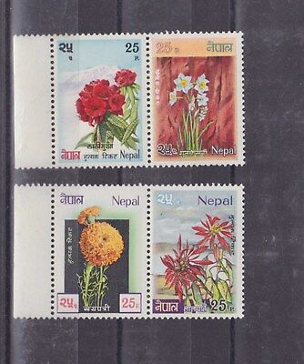 Strict Nepal 1969 Flower,set Mnh M967 Nepal Stamps