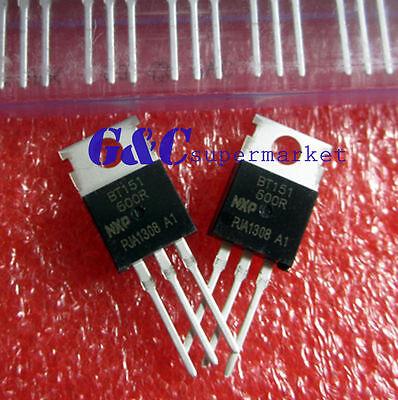 5PCS BT151-600R BT151 TO-220 Thyristors 600V 12A NEW GOOD QUALITY T9