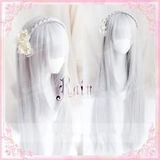 Japanese Anime Wig Cosplay Hair  Lolita Sweet List of Re:Zero Emilia Props Gift