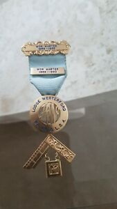 LODGE WESTERFORD No 43 PAST MASTER JEWEL**G.L.S.A**SOUTH AFRICA