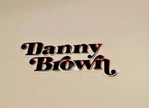 DANNY-BROWN-FOOLGOLDRECS-VINYL-STICKER-STREET-ART-PEGATINA-10x4cm