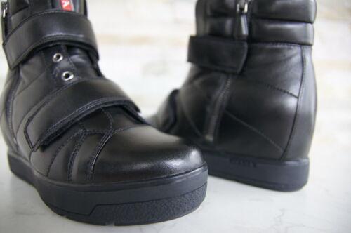 Uvp stivali Prada 3tz047 550 Sneakers 5 zeppa New € Form Black Stivaletti con 35 6xqxYAn1P