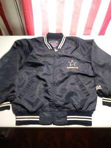 Vintage 80 s Usa World Sense Zip Up NFL Dallas Cowboys Mens Jacket ... 583666124