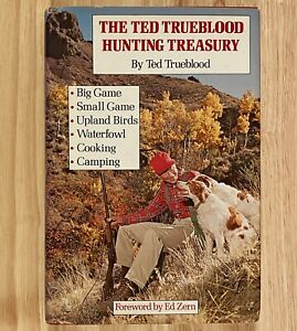 THE-TED-TRUEBLOOD-HUNTING-TREASURY-HC-DJ-1978-First-Edition
