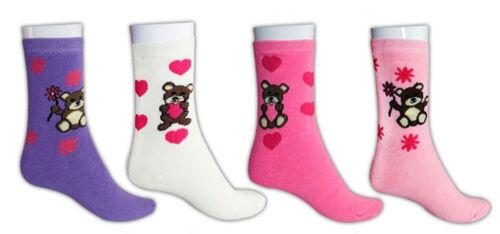 Ladies 3 to 12 Pack Winter Printed Thermal Boot Outdoor Hike Snow Warm Socks