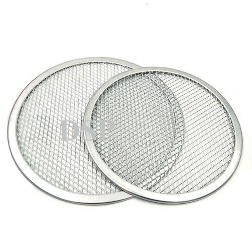 "2 QTY  6/"" inch Aluminium Mash Pizza Baking Tray Flat Wire Food Crisper Bakeware"