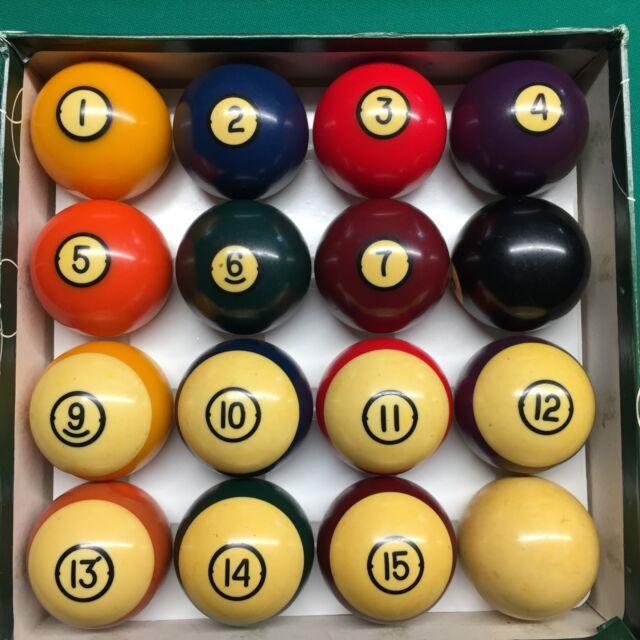 Brunswick Centennial Pool Balls Billiard Ball Set Fast