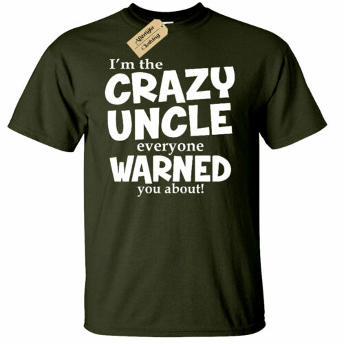 Crazy Uncle Everyone Warned You About Funny Soft T Shirt Uncle Gift Tee