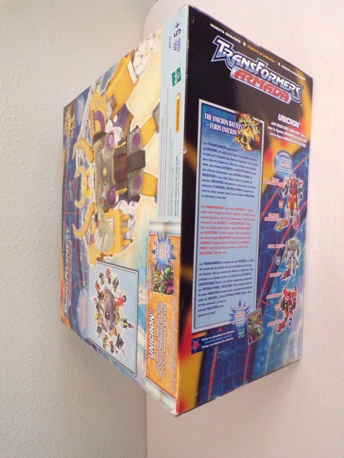 Hasbro Unicron W/ Dead End Mini Mini End Con Transformers Armada Action Figure fef0f8