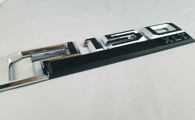 chrome F150 XLT FIT FORD DOOR FENDER TAILGATE EMBLEM BADGE NAME 14 15 16 17 2018
