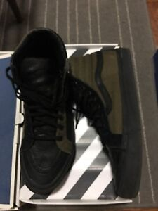 e20ca4087d4d1b VANS X ENGINEERED GARMENTS Sk8-Hi OG LX Olive Black MEN S SIZE 11