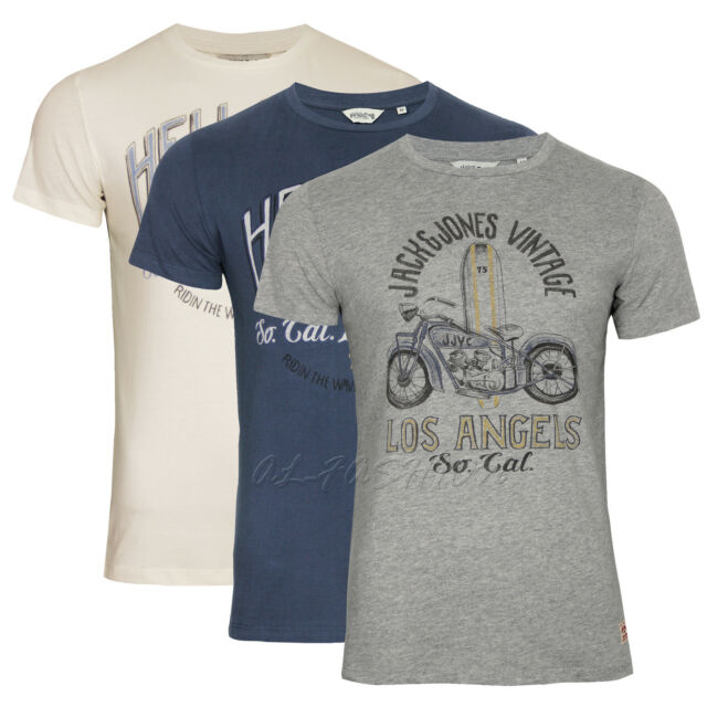 JACK & JONES  VINTAGE T-SHIRT HELL BENT SLIM FIT  Gr.S,M,L,XL,XXL