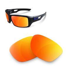 Fit&See Lentes de Recambio Polarizada para Oakley Eyepatch 2 ( Fire Iridium )