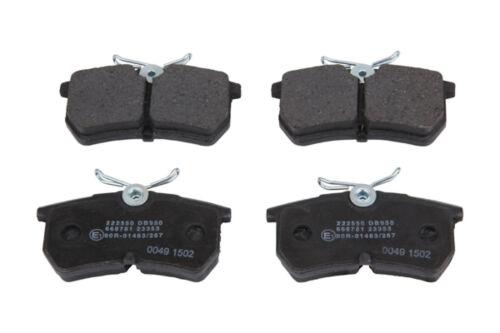 Ford Focus Stufenheck 1.8 TDCI Bremsbeläge Bremsklötze hinten Hinterachse