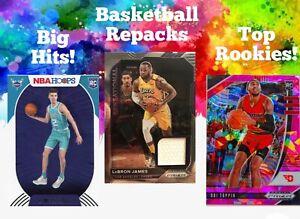 20-CARD BASKETBALL CARD REPACK HOT PACKS ROOKIE 2 HITS VALUE! LAMELO,EDWARDS HOF