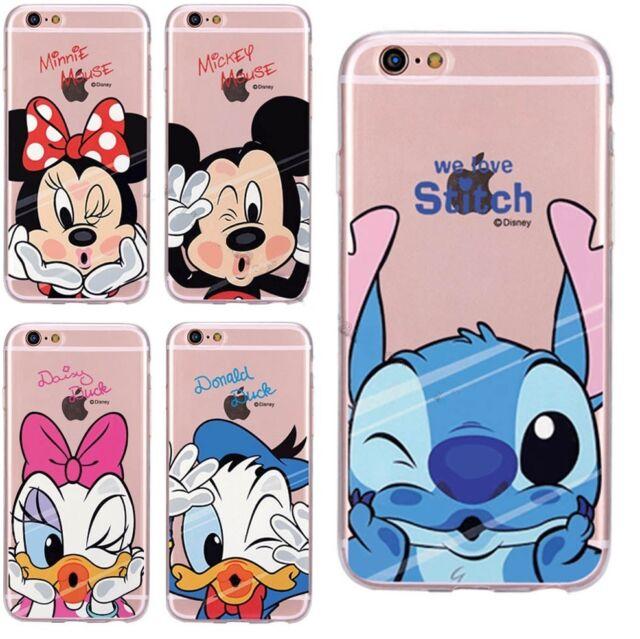 Disney Funda Carcasa Silicona Antigolpes Case iPhone SE 5 6 7 8