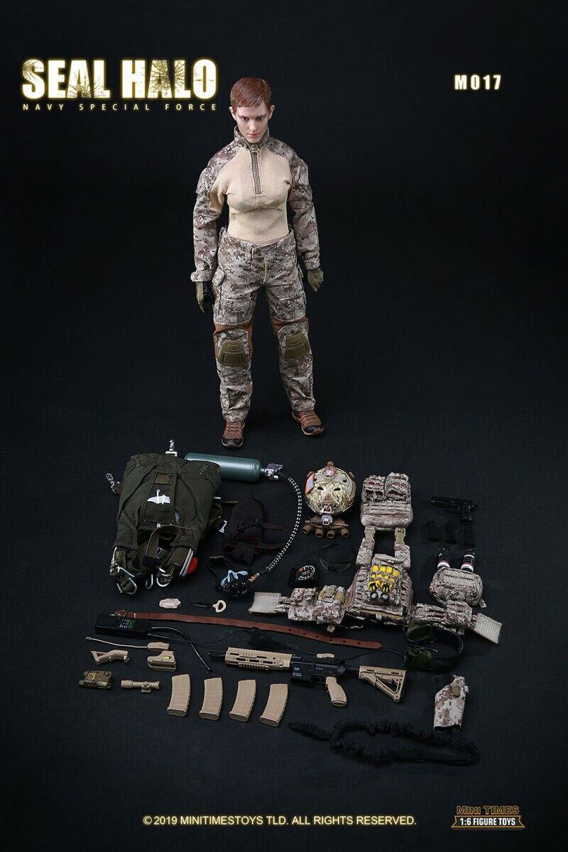 Mini times giocattoli 16th US Seal SEAL Combat Squad Female Soldier azione cifra giocattolo
