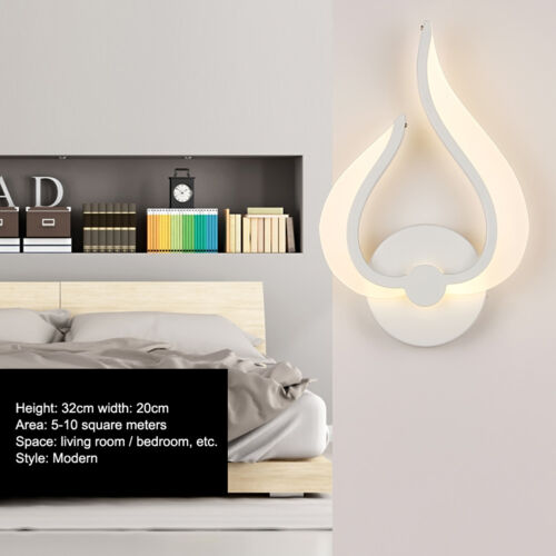 Modern Simple LED Wall Lamps Bedroom Bedside Light Corridor Wall Lighting