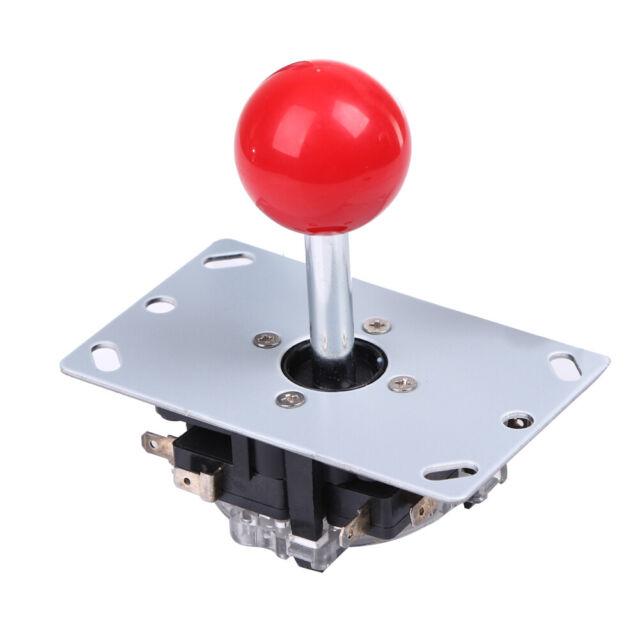 Red 8 Way Arcade Game Joystick Ball Joy Stick Red Ball Replacement UK