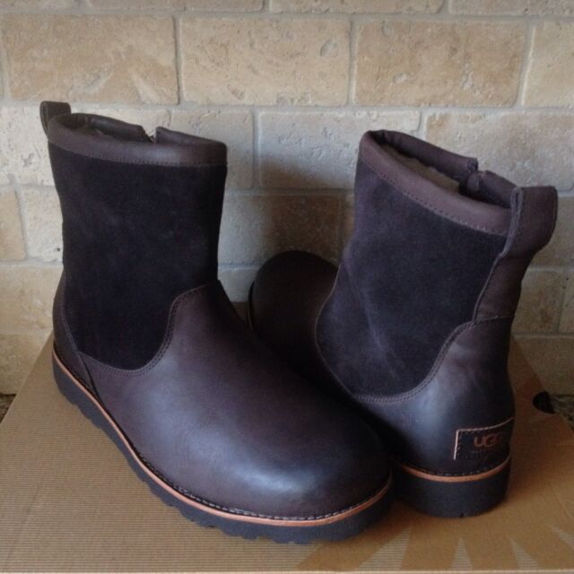 a1f6930928f UGG Messner Stout Leather Work Style Winter Boot Mens US 12 for sale ...