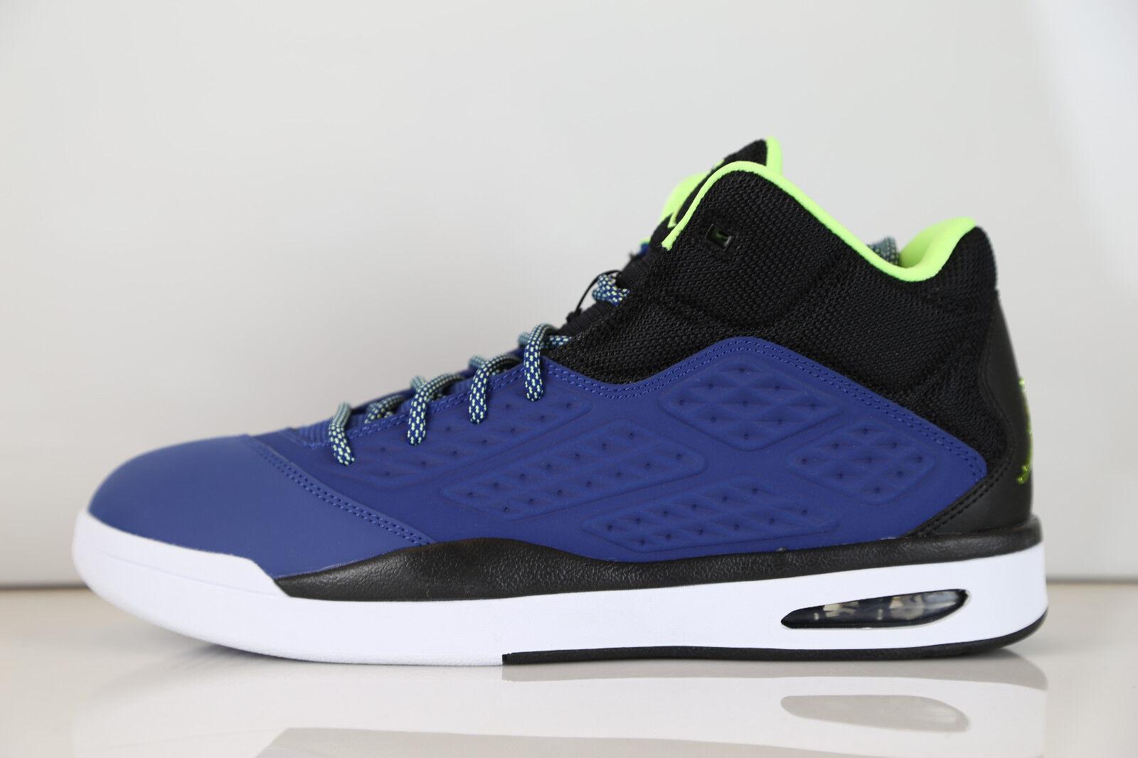 Nike Air Jordan New School Insignia Blue Ghost Green 768901-401 8-13 11 13