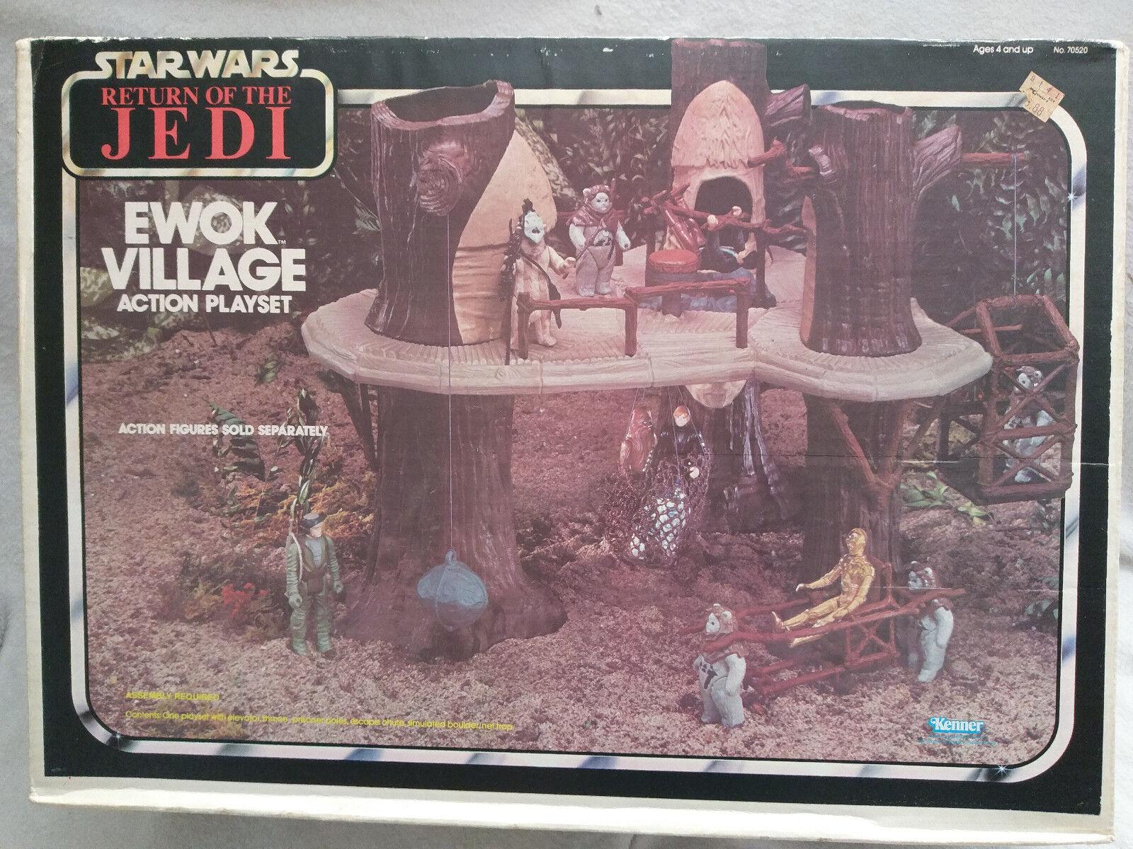 Star Wars ROTJ Ewok Village 1983