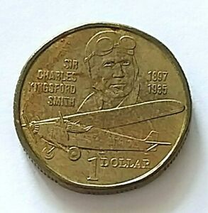 Australia-Currency-of-A-1-Coin-of-Year-1997-A-FINE-amp-NICE-Coin