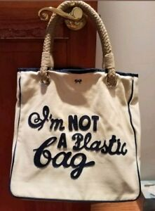 21f67c984837 Image is loading Rare-anya-hindmarch-im-not-a-plastic-tote-