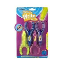 PenAgain Twist n Write ergonómico lápices de Niños, Colores surtidos-Paquete de 4