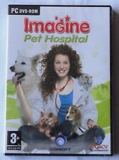 IMAGINE PET HOSPITAL PC DVD-ROM ANIMALS GAME brand new & sealed UK STOCK !