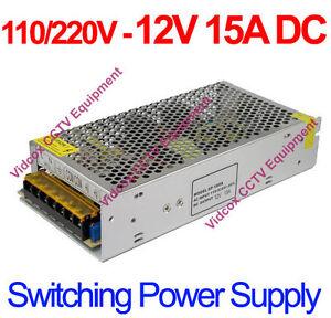 AC-to-DC-12V-15A-CCTV-Security-Power-Supply-Adapter-Regulator-Switch-Transformer
