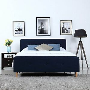 Cute Low Profile Bed Frame Painting
