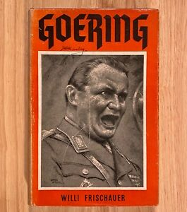 GOERING by Willi Frischauer (HC/DJ) 1950