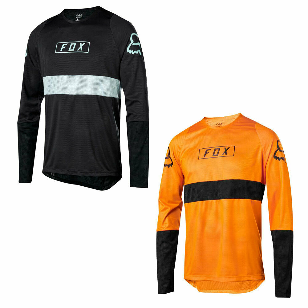 Fox Defend LS Fox Jersey 2019 - Long Sleeve Mountain Bike Downhill Enduro MTB