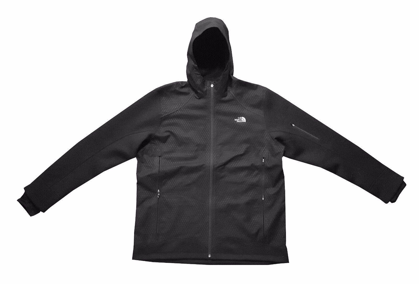 A NORTH FACE Men Kilowatt Ops Jacket Fekete XL Windproof lágy sapka kapucnis NEW